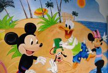 Arta / Obiecte decorate manual, pictura murală pe perete!! Cadouri si obiecte personalizate.