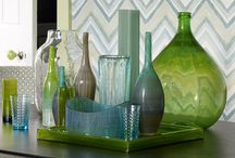 I have a pretty hefty obsession with glass things / by Sabrina Johnson