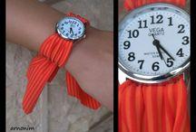 Watch with rotating strips  שעון יד עם רצועות מתחלפות  / Watch with rotating strips   שעון יד עם רצועות מתחלפות