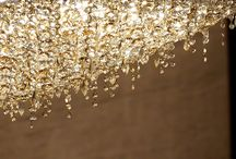 Environment Agency Abu Dhabi / Ariel and Ugolino rectangular chandeliers in gold crystal enlighten the most important halls and offices of the Abu Dhabi Environment Agency.