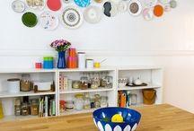 plates displayed / by Sara Rivka Dahan