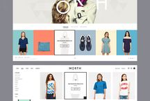 Fashion webdesign