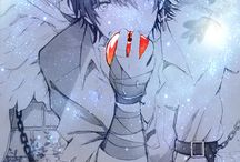 anime boy-Vampire