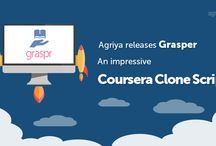 Agriya Grasper - Coursera Clone Script / Agriya's Coursera clone, online course software helps you to rapidly build most useful online education platform, especially for all the academic purposes