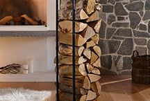 zásobník na dřevo