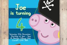 george pig pirate birthday