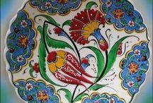 Çiniler ve motifler