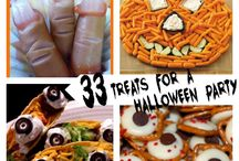 Halloween Party Ideas / Throw a spooktacular Halloween party with these fun ideas for treats, decorations and more. / by Chrissy {The Taylor House}