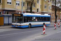 Debreceni Közlekedési Vállalat (DKV) - Dieselbusse / Sie sehen hier eine Auswahl meiner Fotos, mehr davon finden Sie auf meiner Internetseite www.europa-fotografiert.de.