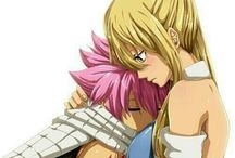 Anime - Fairy Tail Lucy Heartfilia & Natsu Dragneel