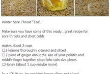 sorethroat remedies and more