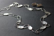 Harmony collection - silver jewellery / Plates of silver works in many ways with semi precisious stones.  They bring you calm harmonic energy, underline natural female beauty. The women who wear this jewellery share calm constant power,  deep beauty and persistence.
