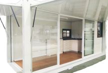 Container Studio - Self Contained Eco Shack / To Buy Our Container Studio - Go to our website for more information: http://www.homeecology.net/tiny-house-eco-cabin-self-contained-container-house-relocatable-building/