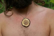 Natural jewelry - upcycled wooden accessories, handmade with love