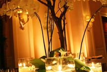 Wedding Centerpieces with Candles
