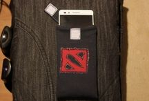 DIY phone cover with DOTA 2 logo
