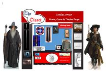 Store Mock Ups / The Closet Mobile / Convention booth & Store Front Rough Drafts