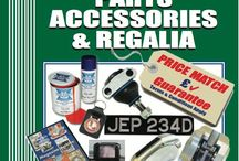 TSSC Shop.  www.tssc.org.uk 01858 434424. / We stock a wide range of parts and accessories selected to fit straight on to your Triumph.  We also have a range of clothing, books & DVDs
