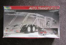 Modelbouwgroep BARON  Autotrailer.  1 op 25 / Autotrailer.