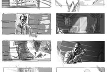 Drawing, Comic, Storyboard