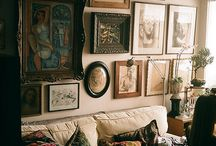 Home Decor Inspo 2015 / Granny Chic, Vintage, Retro, Taxidermy, Embroidery, Lace, Florals, Catification and other things that floats my goat :)