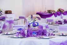Purple / All functions held at Monte Vista Venue with purple incorporated into the colour scheme