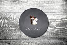 Bierdeckel Hochzeit / Bierdeckel drucken für Deine Hochzeit als Save the Date oder Einladung im Heimatgefühl-Design. Bierdeckel als Einladungskarte oder passend zur Einladung um die Tischdecke zu schützen. Individuelle Wünsche passen wir gerne für Dich an.