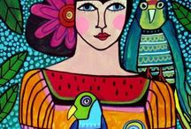 MEXICAN FOLK ART / by Kim Collister