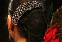 フラメンコ髪飾り