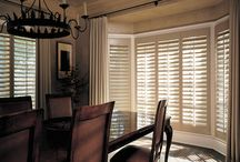 Heritance® Hardwood Shutters / Classic Heritance® hardwood shutters are plantation-style shutters crafted from real wood and use dovetail construction for maximum strength and durability. Available in a large selection of stain and paint finishes.