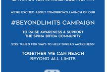 Awareness Month #beyondlimits 2015 / SBA Awareness Month 2015 / by Spina Bifida Association