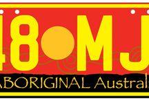 Aboriginal Number Plates / Aboriginal Number Plates