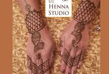 Sangeet & Mehndi Night Henna / Here you will see a sampling of work done during Sangeets as well as Mehndi Nights.  As a Bride, you choose how you want to gift your guests with henna (one hand, both hands, etc)