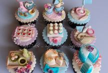Decorated cupcakes / by Michelle Salazar
