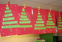 Christmas themed classroom