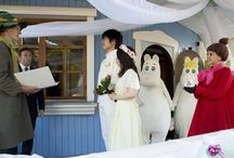 #Moomin #Wedding in Finland! Wow, how cool is that!