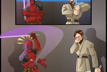 star wars / marvel