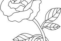 Fabric Painting Motifs