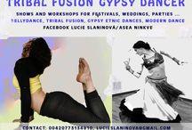Asea Ninque/ Asea Ninkve artist / Dancer Tribal Fusion gypsy