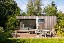 Tiny house / Huisje met grond te koop bij de Nieuwkoopse plassen op een eiland