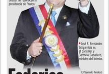 Portadas de los diarios de Paraguay: caso Lugo / La destitución de Fernando Lugo y la sorpresiva llegada de Federico Franco al poder ocupó las portadas de los diarios de Paraguay. Como vemos, hay bastante prudencia de los medios a la hora de calificar lo ocurrido como un golpe.  / by Cdperiodismo