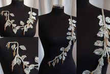 Floral collages / Art  beading