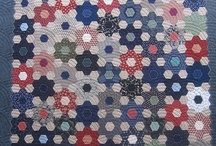 hexagons and english paper piecing