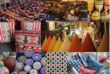 Marruecos / Buenos días! Hoy queremos iniciar con vosotras un viaje hacia la creación de lo que será nuestra primera Colección de Invierno 2014 inspirada en Marruecos, un país lleno de sabores, colores, pigmentos y especias que marcan un entorno muy concreto dentro de una amplia gama de color.   Aquí tenéis una muestra de lo que se avecina ;)
