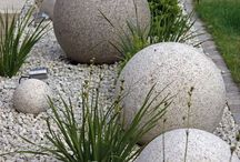 Decorating with Concrete / Concrete homewares, decorations and finishes for inside and outside.