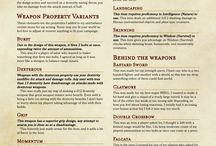 DND Weapons