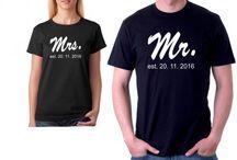 Párové trička pro zamilované