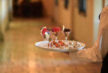 Delicious Foods at Villa Siena / Hors d'oeuvres, Salads and Main entrees served for dinner at Villa Siena!
