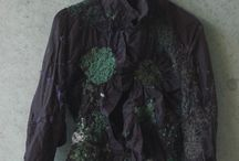 Recycled shirts / Up cycled with stitch