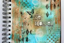 art journal junk journal